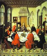 Last Supper central section of an alterpiece Dieric Bouts