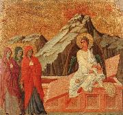 The Holy Woman at the Sepulchre Duccio