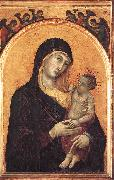 Madonna and Child with Six Angels dfg Duccio di Buoninsegna