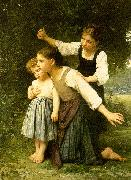 In The Woods Elizabeth Gardner Bouguereau