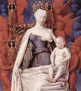 Virgin and Child Surrounded by Angels dfg FOUQUET, Jean