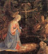 The Adoration of the Child Filippino Lippi