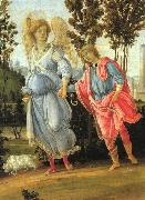 Tobias and the Angel Filippino Lippi