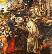 The Vision of St.Bernard Filippino Lippi