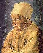 Portrait of an Old Man Filippino Lippi