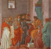 Disputation with Simon Magus Filippino Lippi