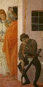 St Peter Freed from Prison Filippino Lippi