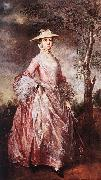 Mary, Countess of Howe sd GAINSBOROUGH, Thomas