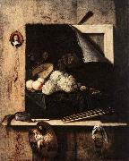Still-Life with Self-Portrait fgh GIJBRECHTS, Cornelis