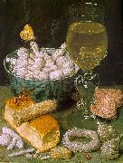 Still Life with Bread and Confectionery 7 Georg Flegel