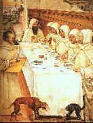 St.Benedict his Monks Eating in the Refectory Giovanni Sodoma