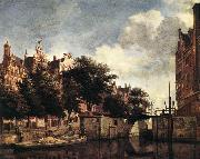 Amsterdam, Dam Square with the Town Hall and the Nieuwe Kerk s HEYDEN, Jan van der