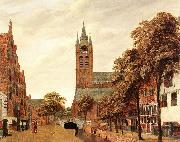 View of the Westerkerk, Amsterdam f HEYDEN, Jan van der
