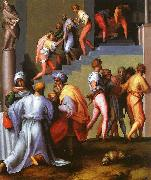 Punishment of the Baker Jacopo Pontormo