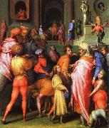 Joseph being Sold to Potiphar Jacopo Pontormo