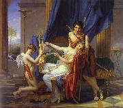 Sappho and Phaon Jacques-Louis David