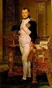 Napoleon in His Study Jacques-Louis David