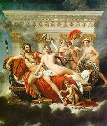 Mars Disarmed by Venus and the Three Graces Jacques-Louis David