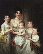 Madame Dubocq and her Children James Peale