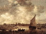 View of Leiden Jan van Goyen