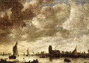 View of Merwede before Dordrecht Jan van Goyen