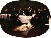 The Magdalen at the House of the Pharisees Jean Beraud