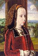 Portrait of Margaret of Austria Jean Hey