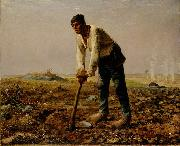 Man with a hoe Jean-Franc Millet