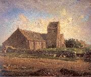 The Church of Greville Jean-Franc Millet