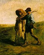 The Walk to Work Jean-Franc Millet