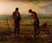 The Angelus Jean-Franc Millet