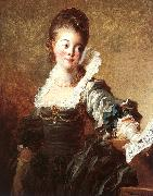 Portrait of a Singer Jean-Honore Fragonard
