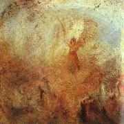 Angel Standing in a Storm William Turner