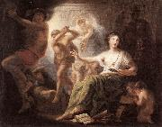 Hercules Protects Painting from Ignorance and Envy s LENS, Andries Cornelis