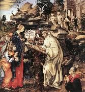 Apparition of The Virgin to St Bernard sg LIPPI, Filippino