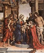The Marriage of St Catherine gwt LIPPI, Filippino