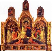 The Coronation of the Virgin Lorenzo Monaco