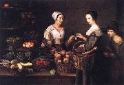Market Scene with a Pick-pocket ag MOILLON, Louise