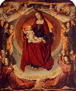 Coronation of the Virgin Master of Moulins