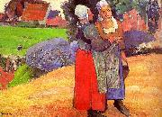 Breton Peasants Paul Gauguin