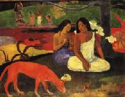 Arearea(Joyousness) Paul Gauguin