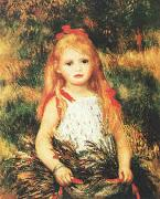 Girl with Sheaf of Corn Pierre Renoir