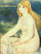 Blond Bather renoir