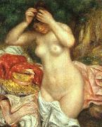 Bather Arranging her Hair renoir