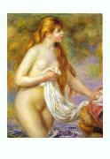 Bather with Long Hair renoir