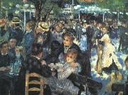 The Ball at the Moulin  de la Galette renoir