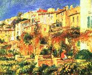 Terrace in Cagnes renoir