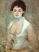 Portrait of Madame Henriot renoir