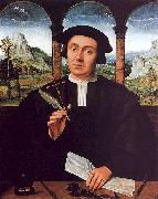 Portrait of a Notary Quentin Massys