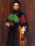 Spanish Girl of Segovia Robert Henri